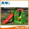 Bear Kids Indoor Plastic Swing and Slide Playground