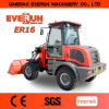 Qingdao Everun Er16 Moving Type Small Front End Loader with Electric Joystick/ Luxury Cabin