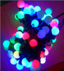 RGB 10 Meters of String 100 Lights 9.2W Slow Flash Christmas Light (IP65)