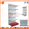 Customized Supermarket Hypermarket Iron Wall Display Shelving Shelf (Zhs571)