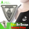 OEM Promotional Gift Cheap Metal Custom Enamel Zips Badges