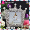 Imperial Crown Design Rhinestone Picture Photo Frame