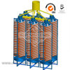 Mineral Processing Spiral Concentrator/Gold Spiral Chute Separator