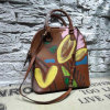 Colorful Photo Printed Shell Package Shoulder Hand Bag (XD150636)