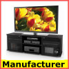 Wholesale Black Glass TV Stand with Bracket
