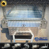 Professional Light Duty Single Trailer with 7X4 Cage (SWT-BT74-L)