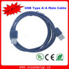 6ft USB Type a Male to Type a Male Data Cable