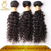 Thicker Hair Weave, Kinky Curly Human Hair Extension, Unprocessed Indian Human Hair (FDX-SM-2016-5)
