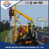 Hydraulic Hammer Pile Driver Guardrail Piling Machine for Highway Guardrail Installation
