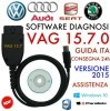 VAG C-O-M 15.7.1 Newest 15.7.4 Diagnostic Cable French English Germany 15.7.0