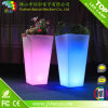 Planter, Plastic Plant Container, LED Light Flower Pot, LED Garden Plant Pot Solar