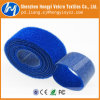 Customized Blue Side by Side Cable Tie Hook & Loop