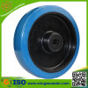 Blue Elastic Rubber Wheels and Caster