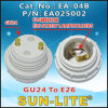 Gu24 to E26 Screw Lampholder Adapter; Ea-04b