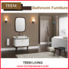 High Gloss White Lacquered Sanitary Ware Modern Cabinet
