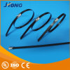 Plastic Full Sprayed Stainless Steel Cable Tie-Ball Self-Lock