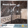 Polished Waterjet Marble Mosaic Border Tile for Flooring