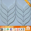 New Design Colorful Leaf Shape Ceramic Mosaic Factory (C655033)