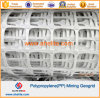 White Color PP Mining Geogrid with Flame-Retardant