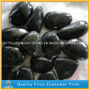 Natural River Stone Black Pebble with High Polished
