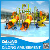 Plastic Commercial Water Slide Playground (QL-150707C)
