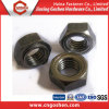 Gold China Supplier DIN929 Carbon Steel Hex Weld Nut (M5-M24)