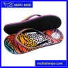 Colorful Print PE Sandal with Beads on Straps