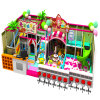 Candy Style with Castle for Indoor Playground