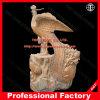 Phoenix Animal Statue Marble Sculpture for Garden Decoration