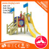 Great Style Kids Wooden Outdoor Playground Slide