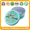 Food Grade Round Cookie Tin Box for Biscuit Tin Can