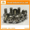 M6X12 SS304 Pan Head Drilled Spanner Machine Screw