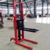 1000, 2000kg Manual Hand Lifting Stacker with High Quality