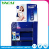 Recycle Paper Supermarkets Products Rack Cosmetic Display Stand