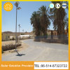 Outdoor Solar Street Lighting with 2-20m Pole