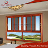 Aluminum Profile Toughened Glass 3-Track Sliding Window with Fly Screen