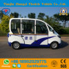 Mini 4 Seats Low Speed Electric Patrol Car with High Quality