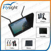 "D80 Flysight Diversity 7""Wireless Fpv LCD Monitor W/Built-in 5.8g Dual Receiver for RC Uav Drone Airplane"