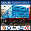 Cimc Huajun 3axle Gooseneck 2-Group-Stake Semi Trailer