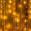LED Warm White Decorative String Curtain Light