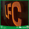 Outdoor Used Advertising #304 Stainless Steel LED Sign Letter