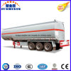 3 Axis 40000 Liters Carbon Steel Fuel Tanker Truck Semi Trailer with 4 Silo