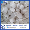 Wear Resistant Solution High Alumina Hexagonal Tile with Size 12X3mm