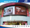 Outdoor Arc Advertising LED Screen Display