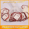 Elastic String Custom Jewelry Paper Tags