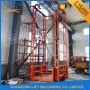 Ce Warehouse Vertical Guide Rail Chain Lift Stationary Cargo Lift