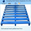 Turnover Stainless Warehouse Metal Pallet
