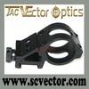 Vector Optics Tactical 30mm Laser Flashlight Offset Weaver Picatinny Mount Ring