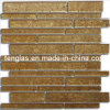 Gold Golden Foil Glass Mosaic Tile (TG-TB-088)