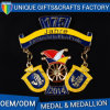 Metal Zinc Alloy Challenge Medal in Different Plating